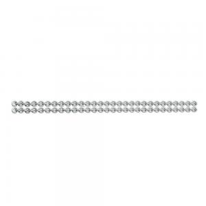 111 S Zilver dubbele ketting